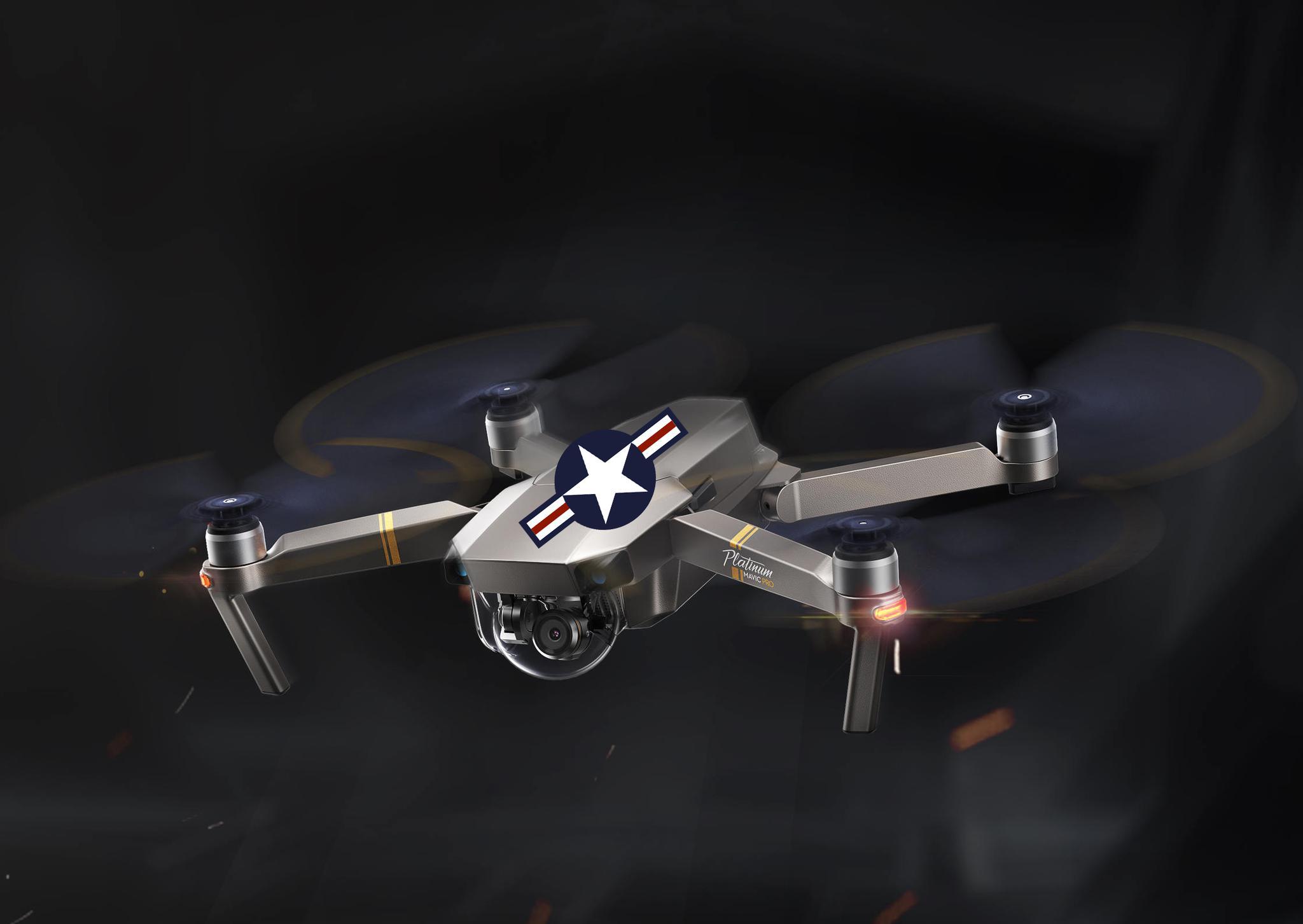 目前尚不清楚这些无人机是否会被漆上美国空军标志