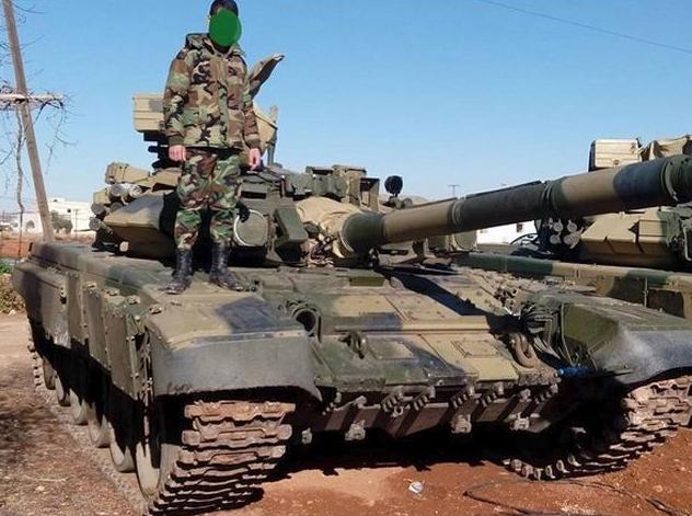 """当局军老虎部队的T-90A,叙利亚的T-90能够说是""""一战成名"""" 图源:外交媒体"""