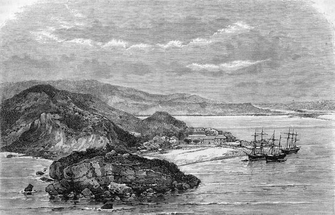 """当年的""""打狗""""天然良港,被殖民者一眼相中。本文图片 """"直播港澳台"""""""
