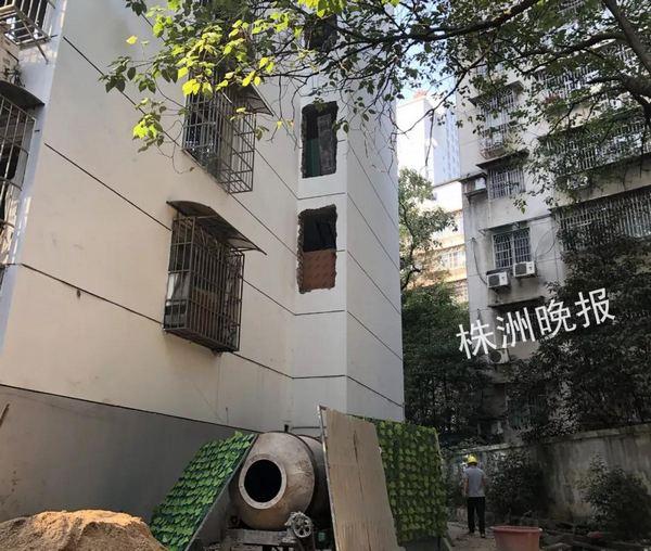 楼栋加装电梯,为了婆婆上下楼方便,株洲儿媳垫付全部费用!