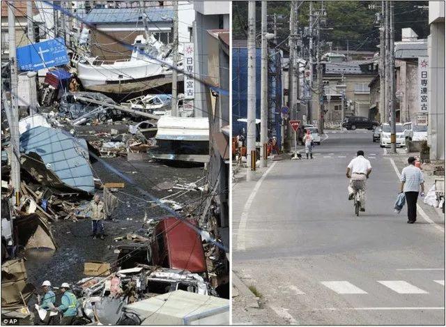 2011年的东日本大地震对日本影响很大,但是灾区的重建工作也很快。