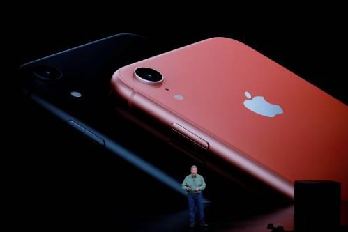 图为iPhone XR。原料图片