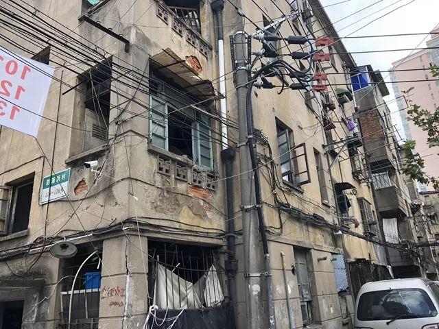 ▲彭浦新村非成套旧公房改造五期工程所在地