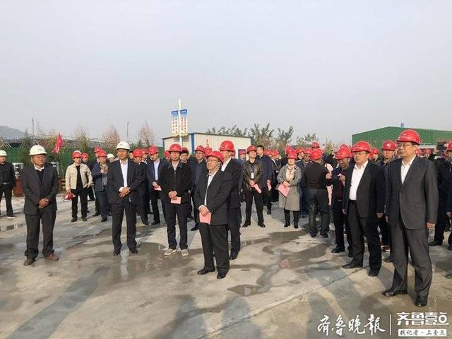 山東省綠色礦山建設現場會在山東平陰進行
