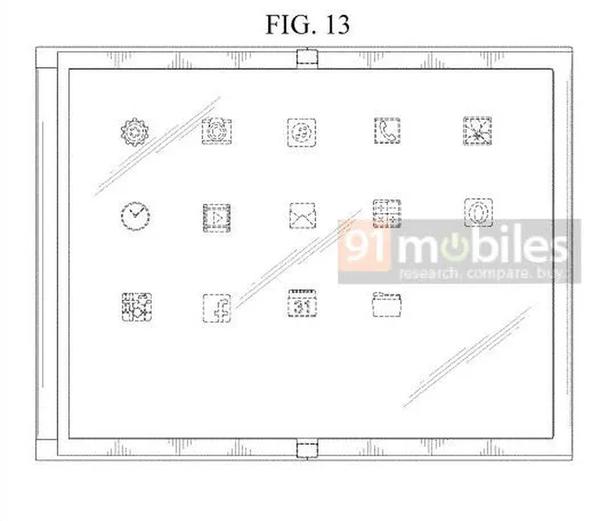三星折叠屏专利曝光 副屏位于手机的右侧