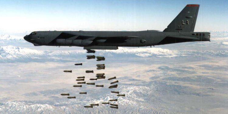 资料图:美国空军B-52轰炸机