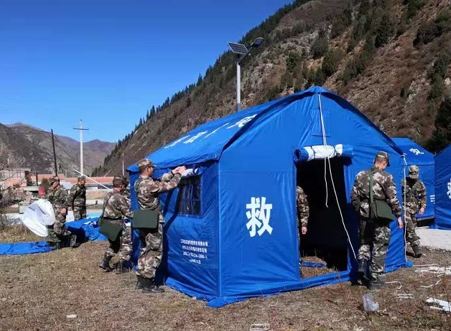 甘肃夏河县地震致21人受伤 排查救援工作仍在开展