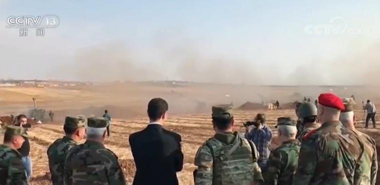 【蜗牛棋牌】叙利亚总统首次公开视察伊德利卜省前线