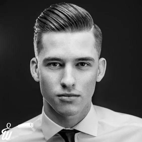 欧美油头_school 的油头造型 可以说是近些年最受欢迎的男士发型, 无论是欧美