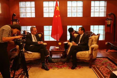 图片来源:中华人民共和国驻瑞典大使馆官网