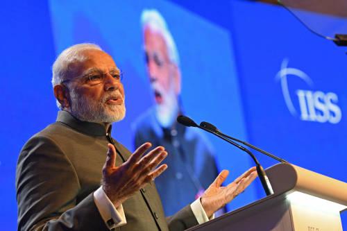 图为印度总理莫迪。新华社