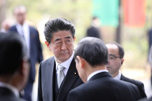 图为日本首相安倍晋三。新华社