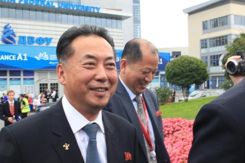 朝鲜内阁副总理李龙男(韩联社)