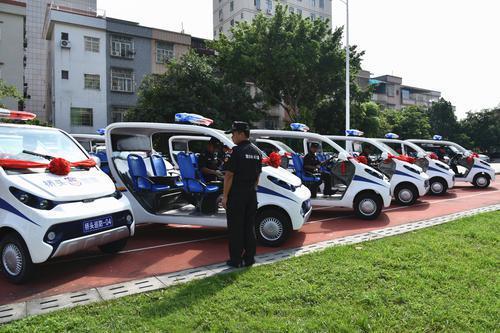 东莞:桥头发放20辆警用电动巡逻车