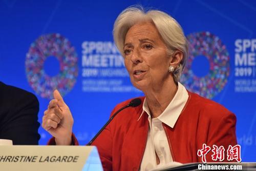 资料图:国际货币基金组织前总裁克里斯蒂娜·拉加德。中新社记者 沙晗汀 摄