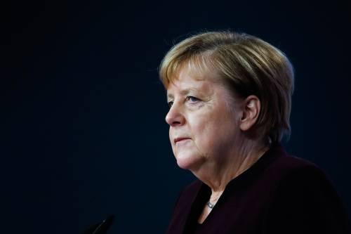 图为德国总理默克尔。新华社/美联