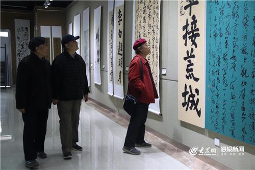 丹青抒怀翰墨飘香――第二届全国教授书画作品展开幕