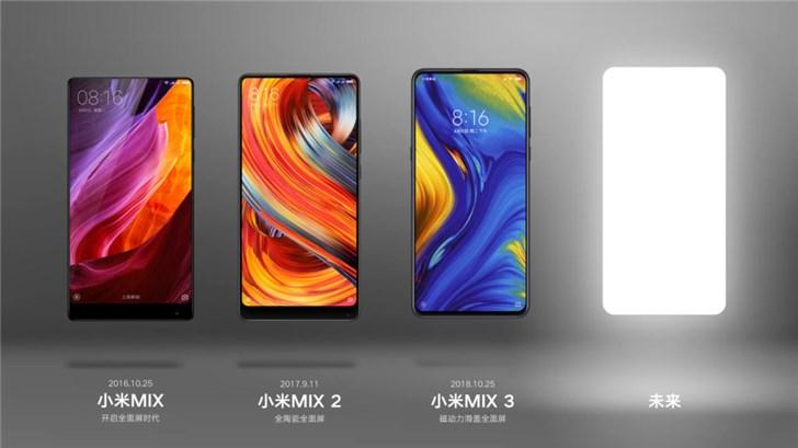 小米MIX 4预计于9月24日发布 支持反向充电还有4G版和5G版