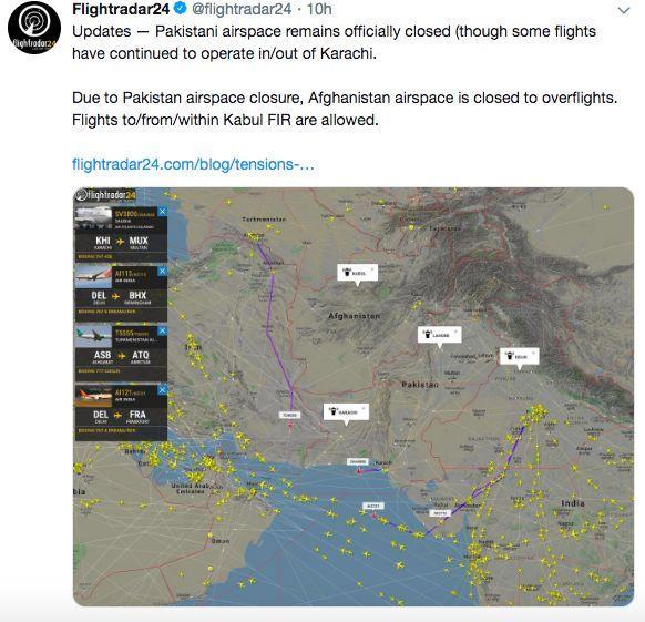 印巴冲突升级在阿联酋和泰国的这些人也遭了殃|巴基斯坦|航班