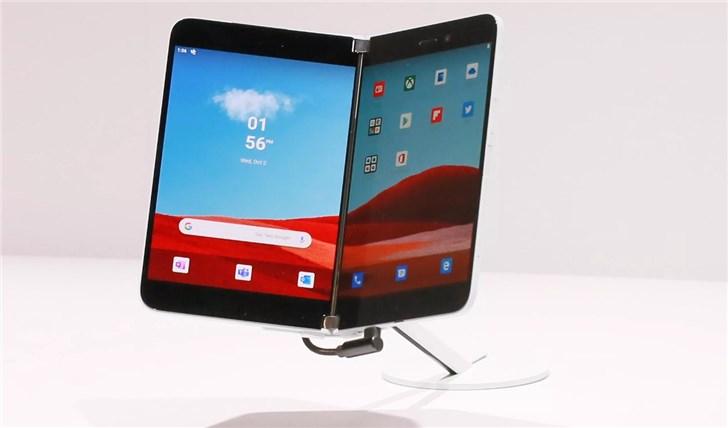 微软Surface Duo考虑提供巨型摄像头模块 专为超薄手机设计