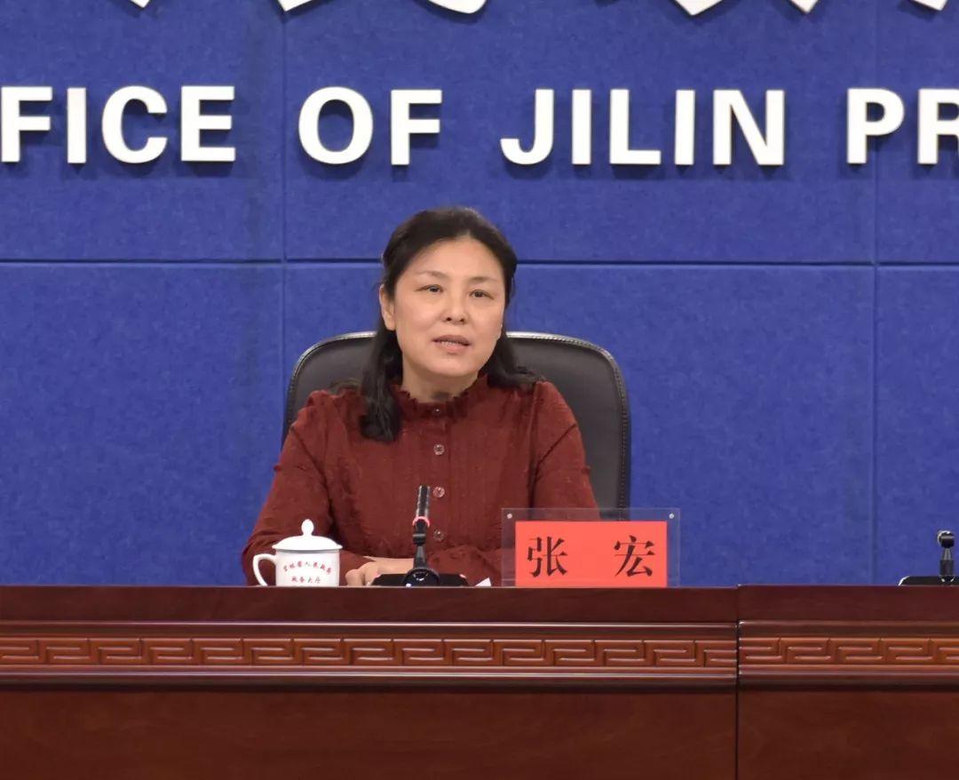 吉林省市场监管厅副厅长张宏介绍相关情况。(图片来源:吉林市场监管官方微信)