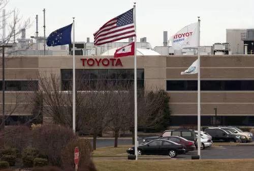 ▲资料图片:在美国印第安纳州普林斯顿市的丰田工厂