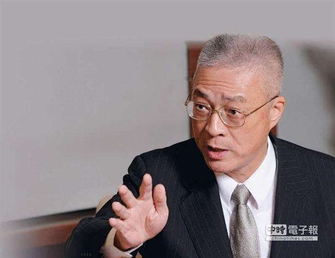图为国民党主席吴敦义。(来源:中时电子报)
