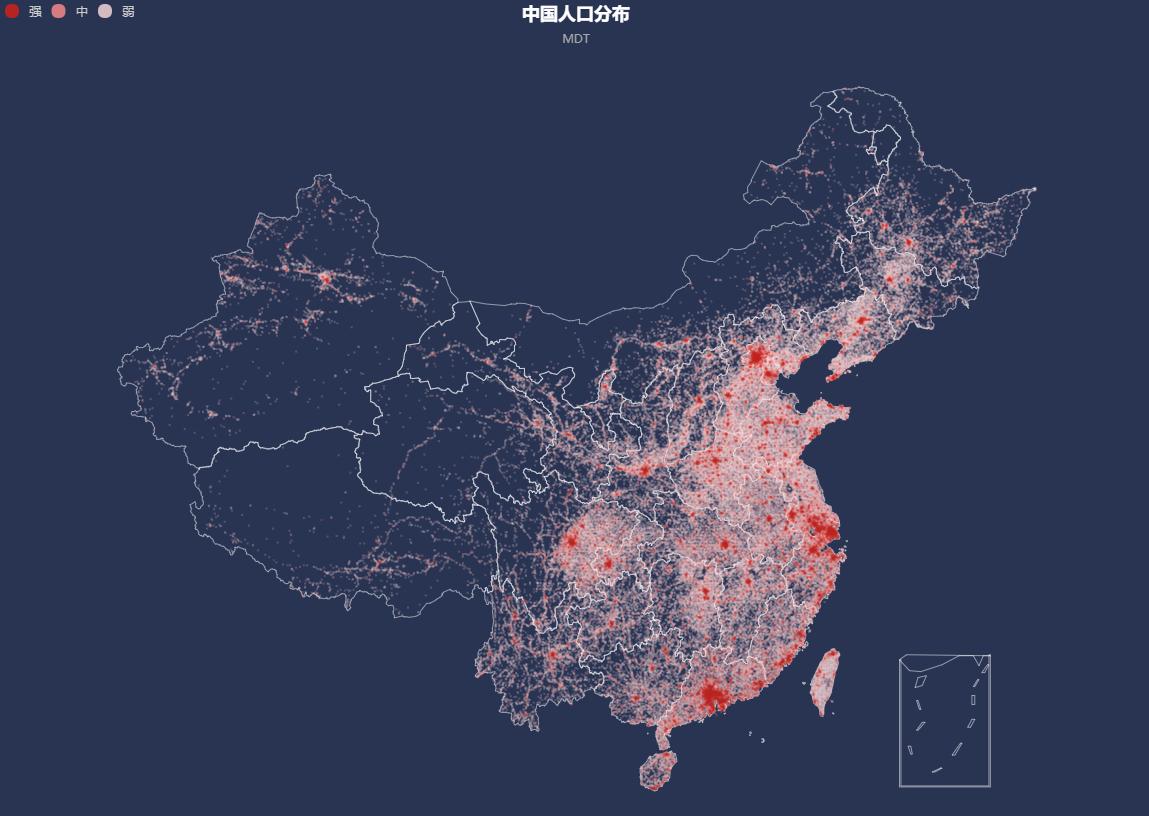 中国人口密度分布_人口的疏密程度可以用什么图来表示(2)