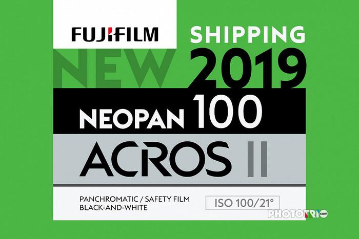 富士将于本月22号发售全新ACROS 100 Ⅱ...
