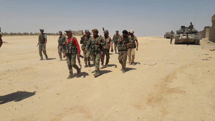 正在进入马尔基耶口岸的叙利亚阿拉伯陆军 图源:社交媒体