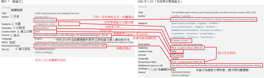 蔡英文博士论文再曝7大疑点 网友讽:真是台湾之光