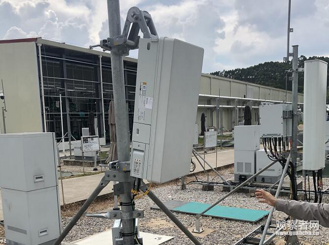 华为5G设备 观察者网徐乾昂摄