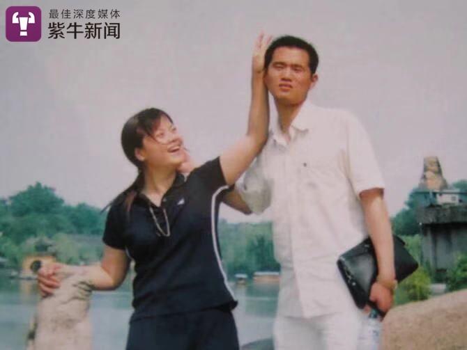 胡永飞和周忠燕夫妻俩的旧照