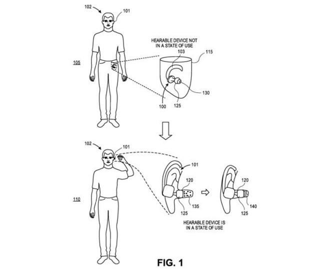蘋果注冊耳機專利 主要是在AirPods加入氣壓傳感器