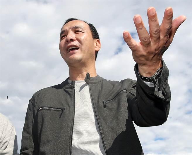 """针对王金平爆料国民党""""换柱""""秘辛,朱立伦12日表示,在""""换柱""""风波中,自己唯一对不起的就是洪秀柱。(图片来源:台湾""""中时电子报"""")"""
