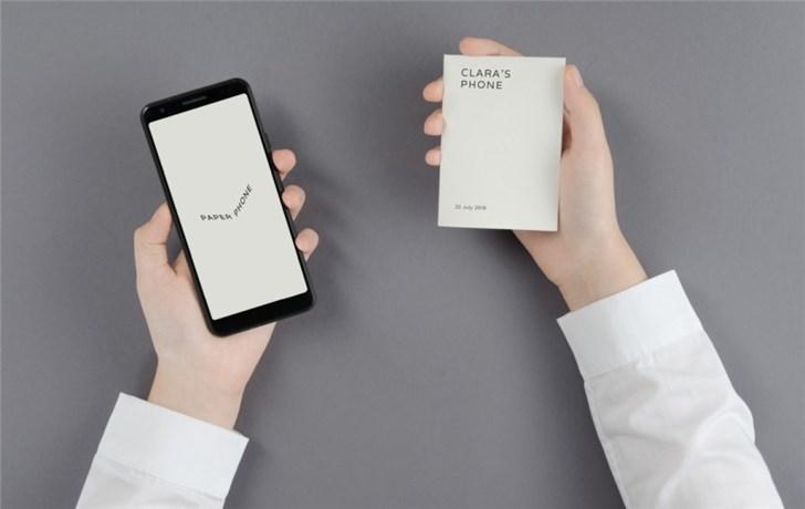 """谷歌推出""""纸手机""""帮你放下手机"""