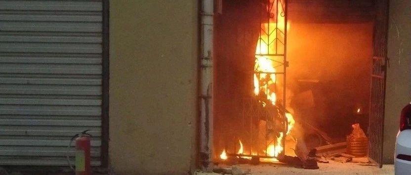 九江一托管中心起火80多岁老人被困 又因厨房这根管子