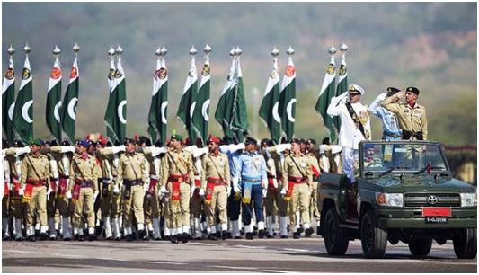 (巴基斯坦阅兵仪式)