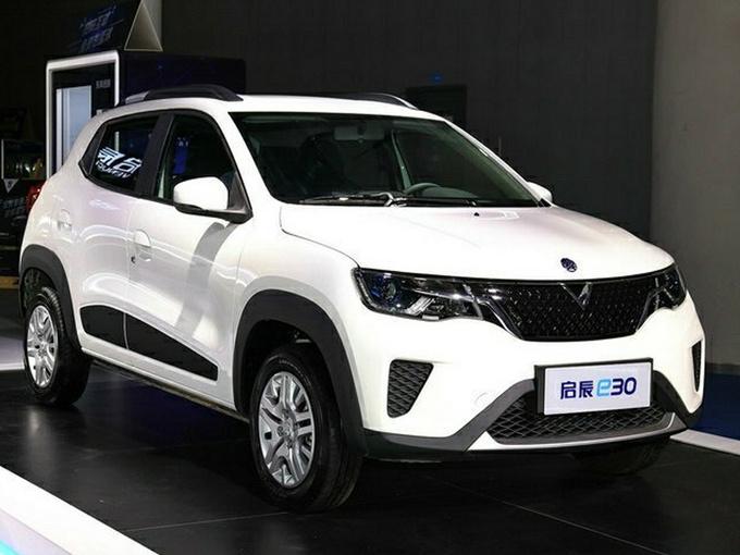 启辰e30纯电SUV配置曝光