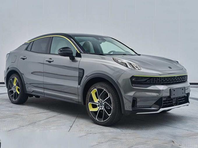 领克05轿跑SUV实拍图 预计下月发布
