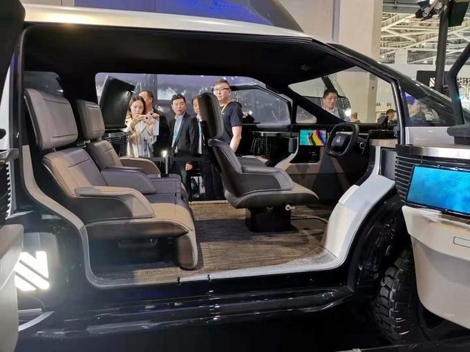 首例电动多功能车曝光进博会 预计明年上市