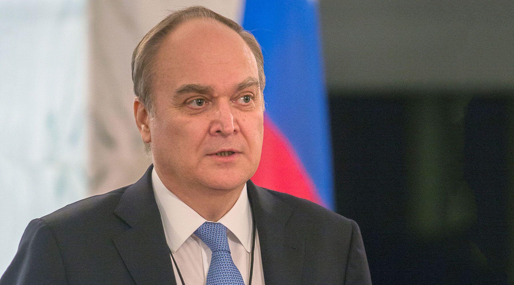 图说:俄罗斯驻美国大使阿纳托利•安东诺夫