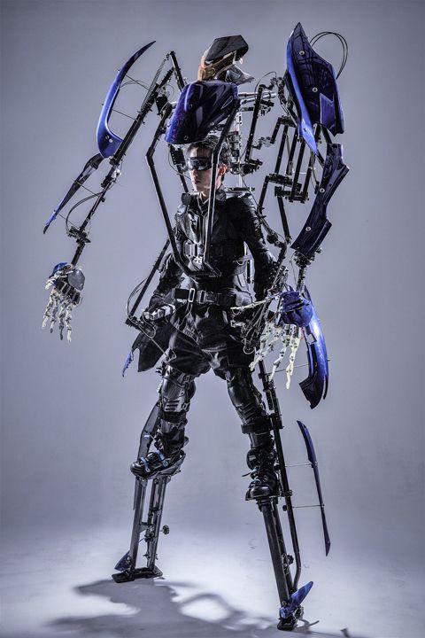 未来战士外骨骼单兵装甲
