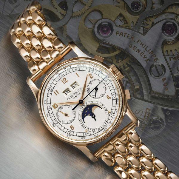 资料图片:百达翡丽1518豪华手表。(图片来源于网络)
