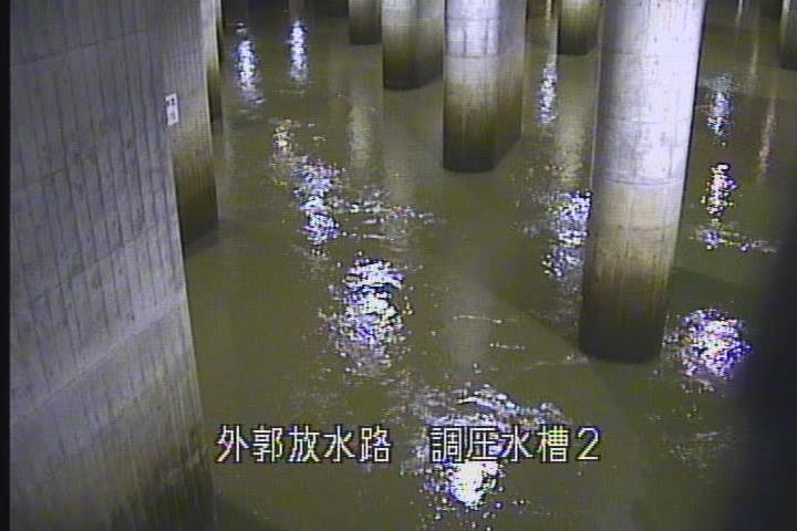 """运作中的""""地下神殿""""(江户川河务局)"""