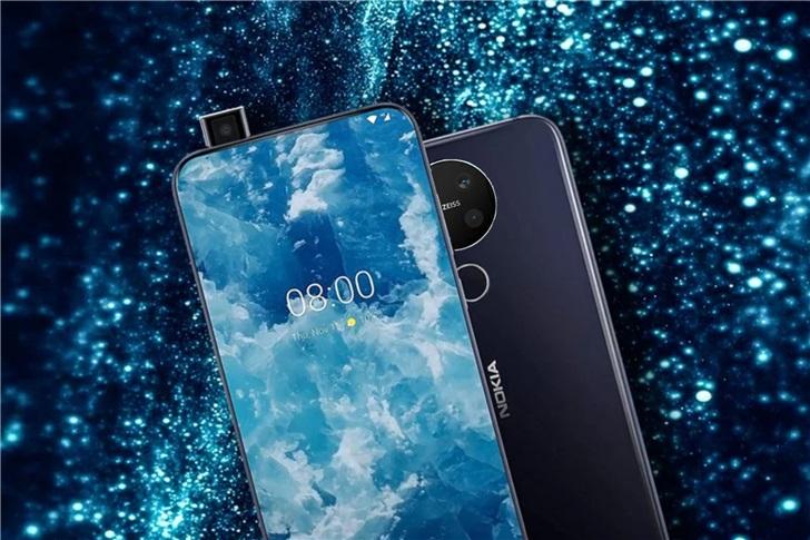 诺基亚8.2手机或将亮相于MWC 2020,搭载高通骁龙735 5G处理器