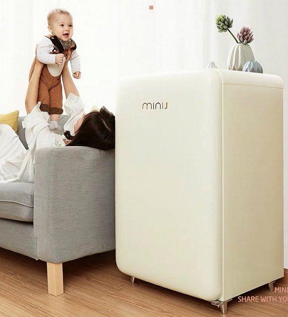 小吉品牌母婴冰箱。来源:小吉天猫店