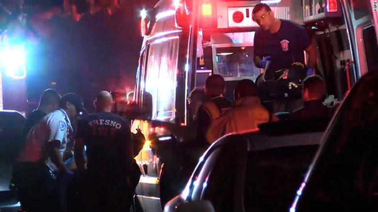 美加州一场家庭聚会发生枪击案 造成4死6伤(图)