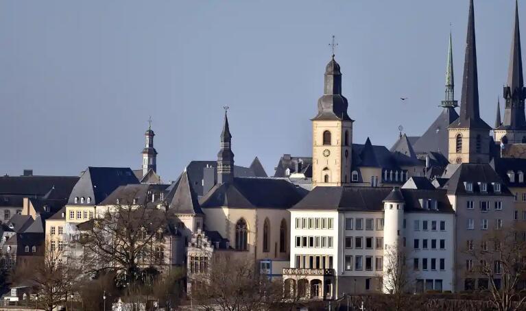 (卢森堡市是世界上交通阻滞最主要的城市之一 图片来源:路透社)