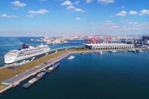 邮轮产业成为港口亮丽名片,青岛市北区大港区域核心引领活力